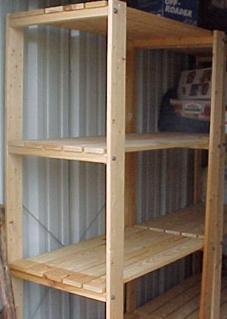 How To Build Shelves On Wall In Garage