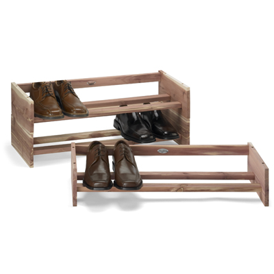 Floor shoe rack