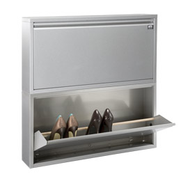 Container store shoe cabinet