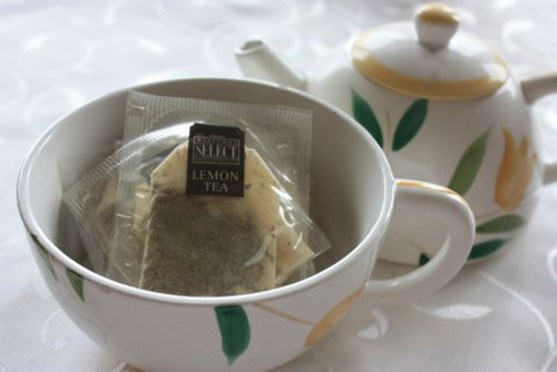 Teabags in teapot