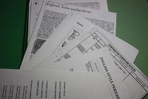 Handouts in file