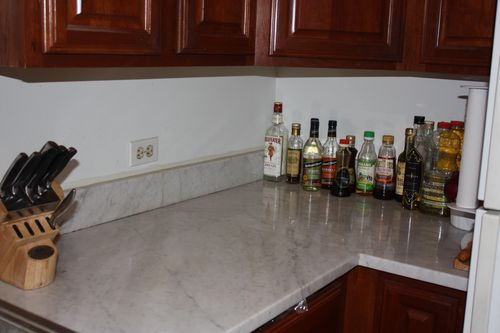 After counter top